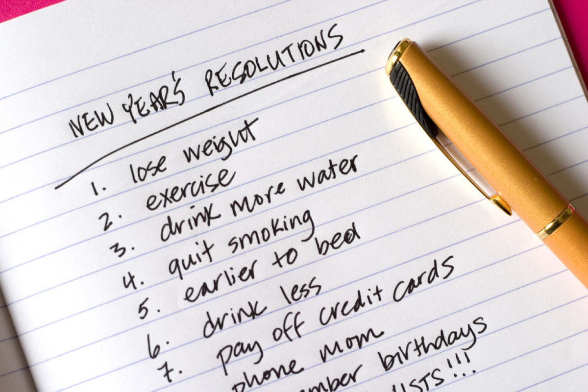 New Years Resolutions Fitness and Health